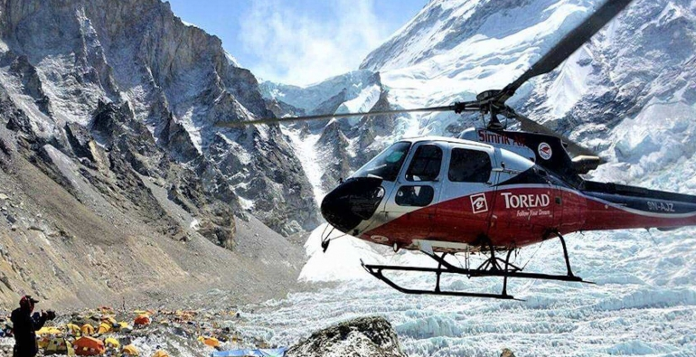 Everest Helicopter Day Tours